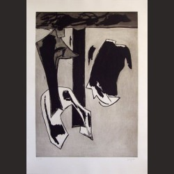 Juan Barjola-Composición