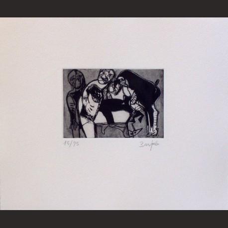 Juan Barjola-Amigos del perro