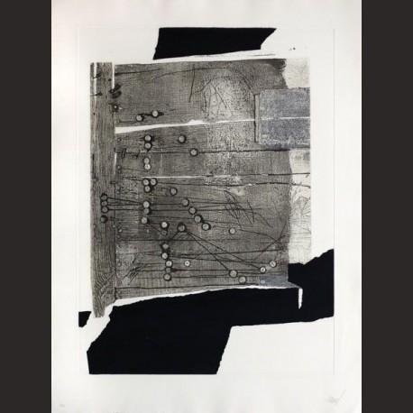 Antoni Clavé-Xinxetes sobre fusta