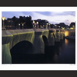 Christo-The Pont-Neuf Wrapped, 1975-1985