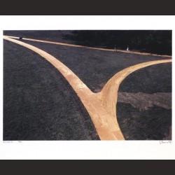 Christo-Wrapped walks ways, Loose Park, Kansas City, Missouri, 1977-1978