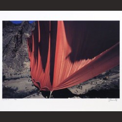 Christo-Valley Curtain, Rifle, Colorado, 1970-1972