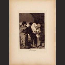 Francisco de Goya-Serie Caprichos - Pobrecitas