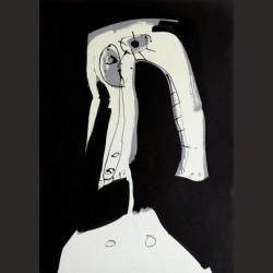 Antonio Saura-Serie Aforismen