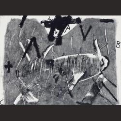 Antoni Tàpies-Lletres i gris