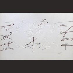 Antoni Tàpies-Serie Petrificada petrificante