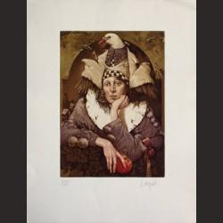 Vicente Arnás-Mujer pájaro