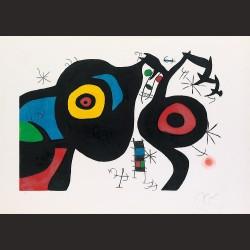 Joan Miró-Los dos amigos