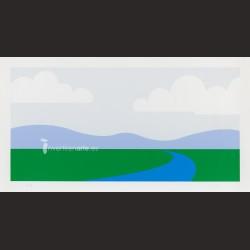 Julian Opie-Landscape