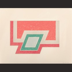 Frank Stella-Conway From Eccentric Polygons
