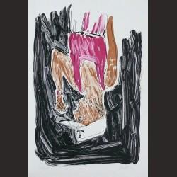 Georg Baselitz-Einer Malt Mein Portrait