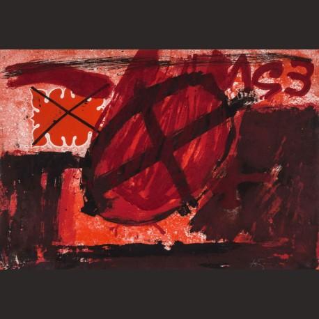 Antoni Tàpies-Cercle Rouge