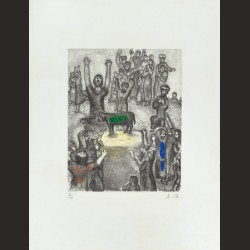 Marc Chagall-Le veau d'or