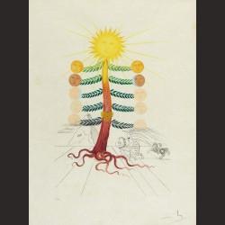 Salvador Dalí-Luna Geminata (Flordali), de la serie Flora Dalinae