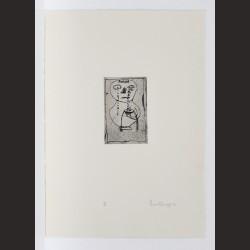 Louise Bourgeois -Vase of Tears (de la serie Quarantania de 1946)