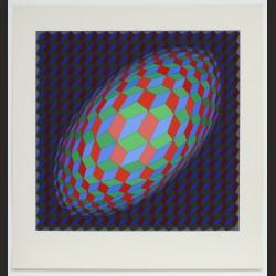 Victor Vasarely - Composición