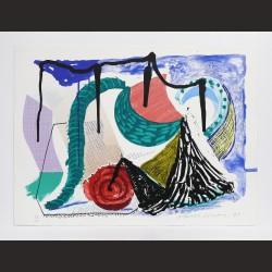 David Hockney - Catherine's walk (CR338)