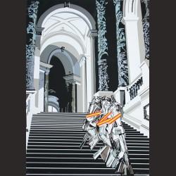 Equipo Crónica - Desnudo bajando la escalera (serie Composiciones)