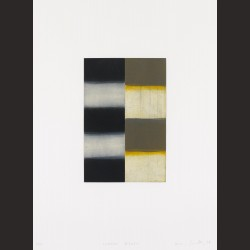 Sean Scully - Mirror Yellow