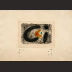 Joan Miró - Fusée